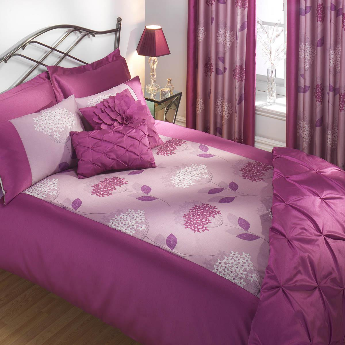Pink Julian Charles Wildflower Duvet Set