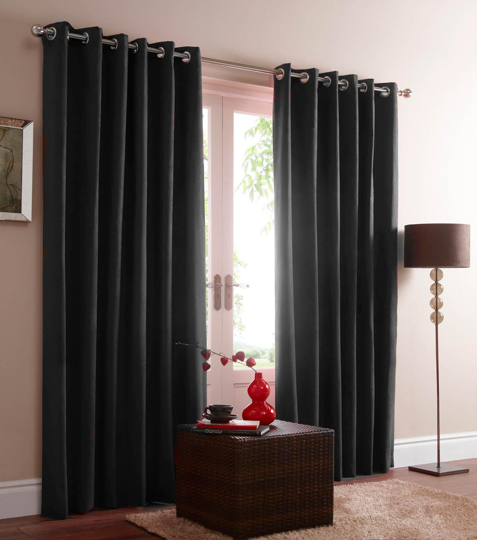 black eyelet curtains shop for cheap curtains blinds. Black Bedroom Furniture Sets. Home Design Ideas