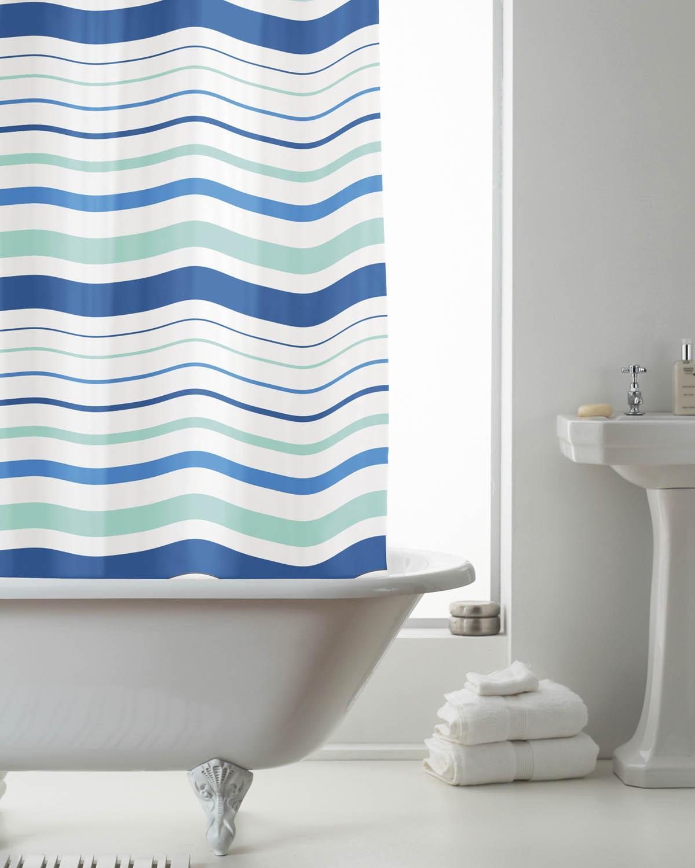 Buy Cheap Shower Curtain Blue