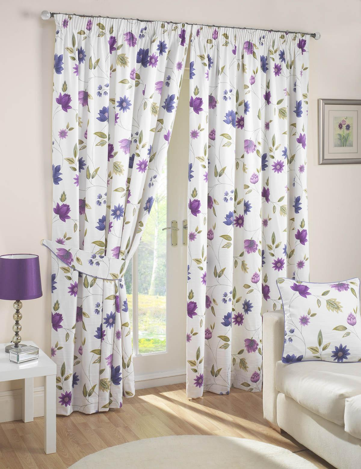 Charlotte Readymade Curtains Lavender Free Uk Delivery Terrys