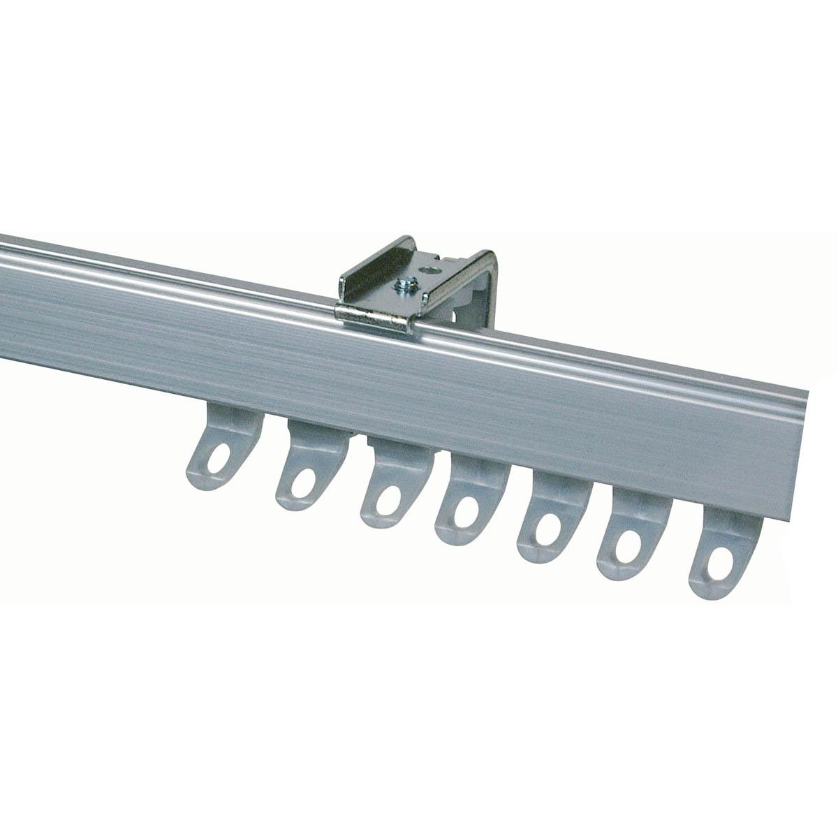 Fineline Metal Aluminium Curtain Track Suitable For