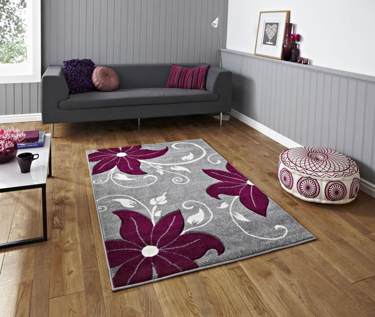 Click to view product details and reviews for Grey Purple Verona Oc15 Rug.