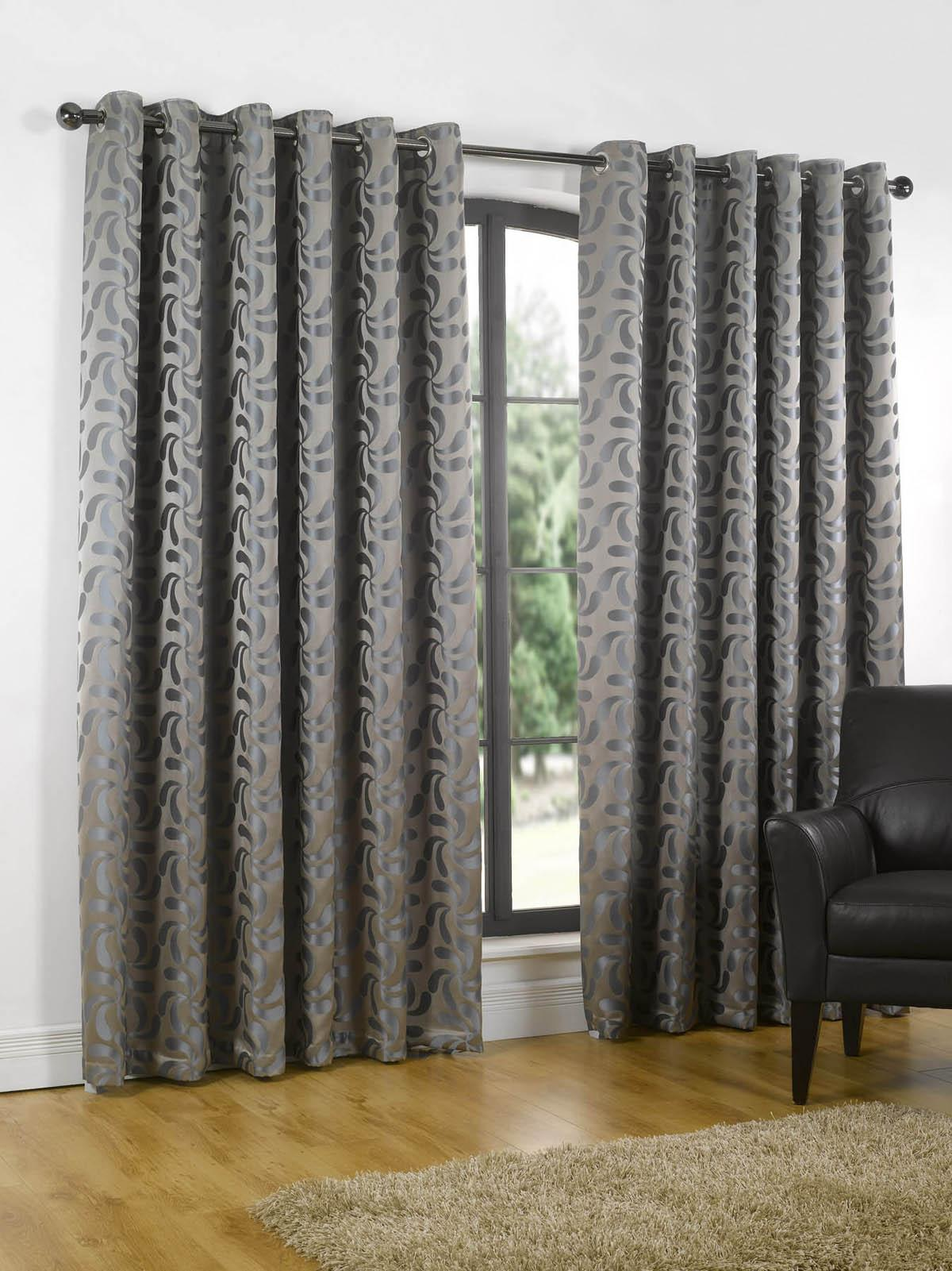curtains ready made eyelet shop for cheap curtains. Black Bedroom Furniture Sets. Home Design Ideas