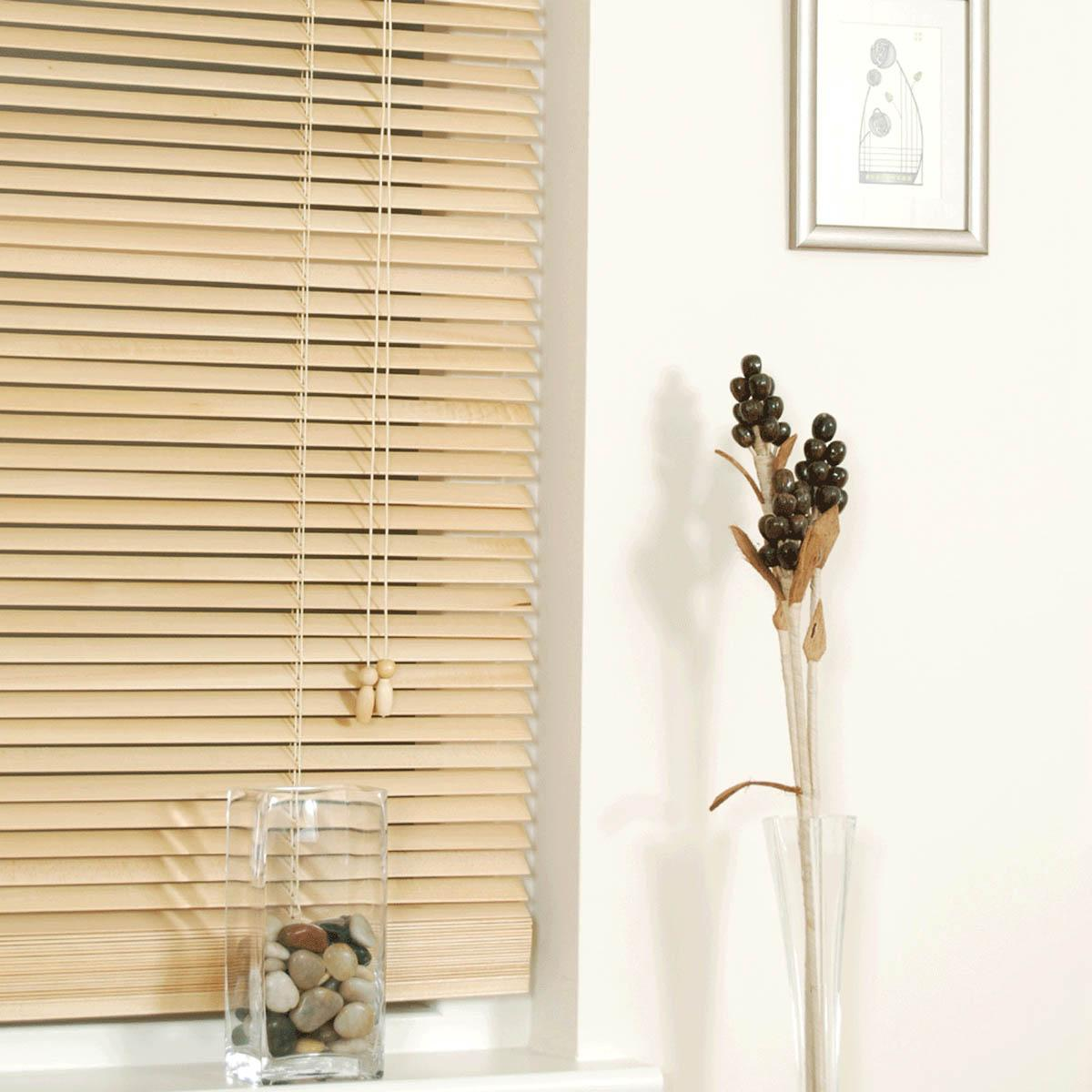 Natural Wooden Venetian Blinds