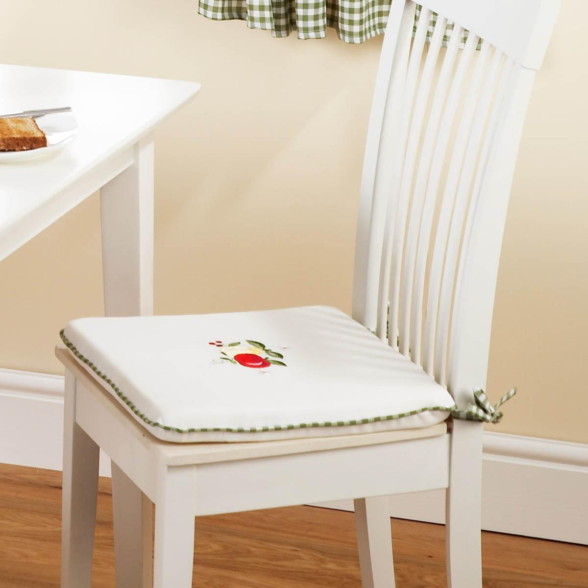 WhiteGreen Fruit Seat Pad