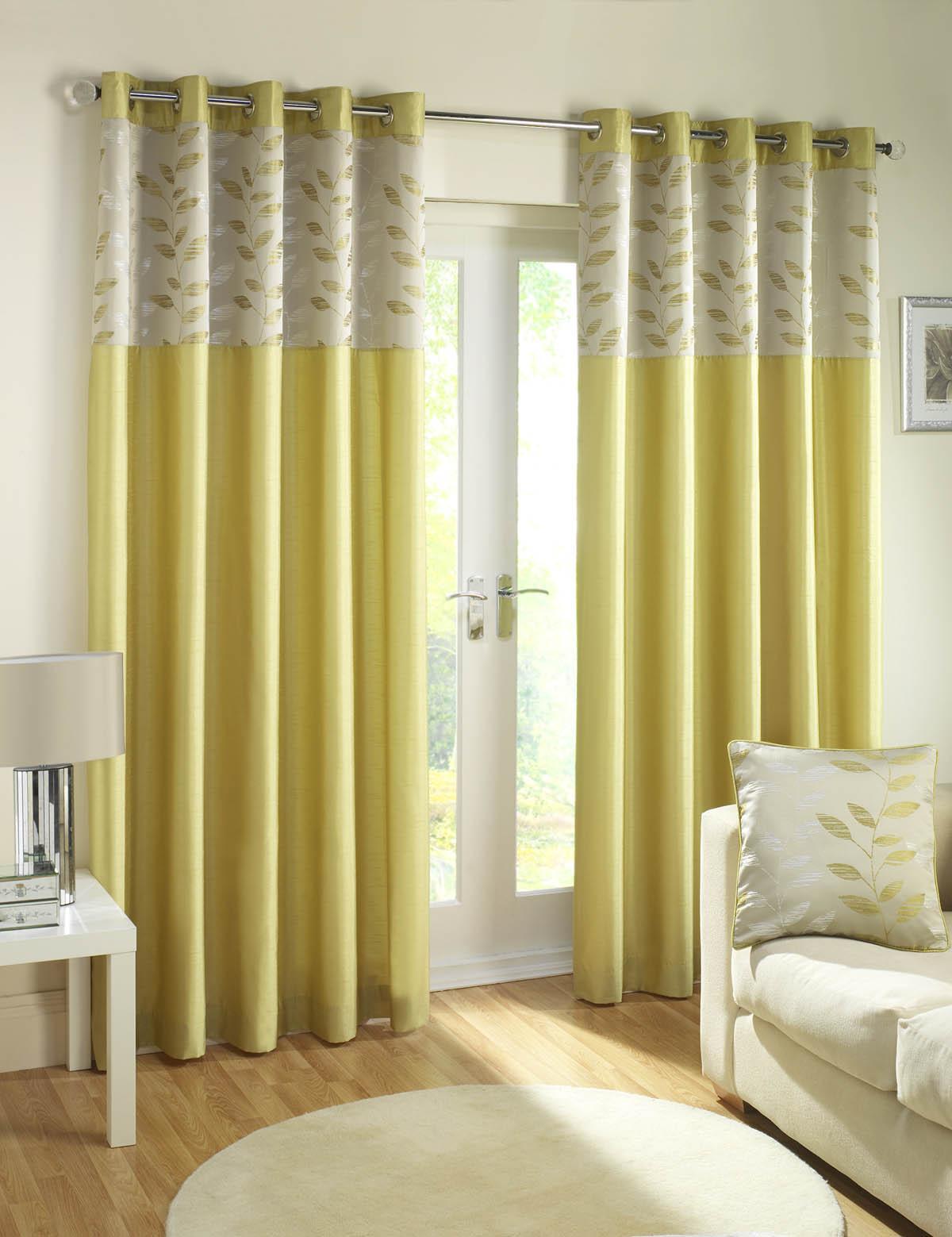 1453 White Eyelet Kitchen Curtains