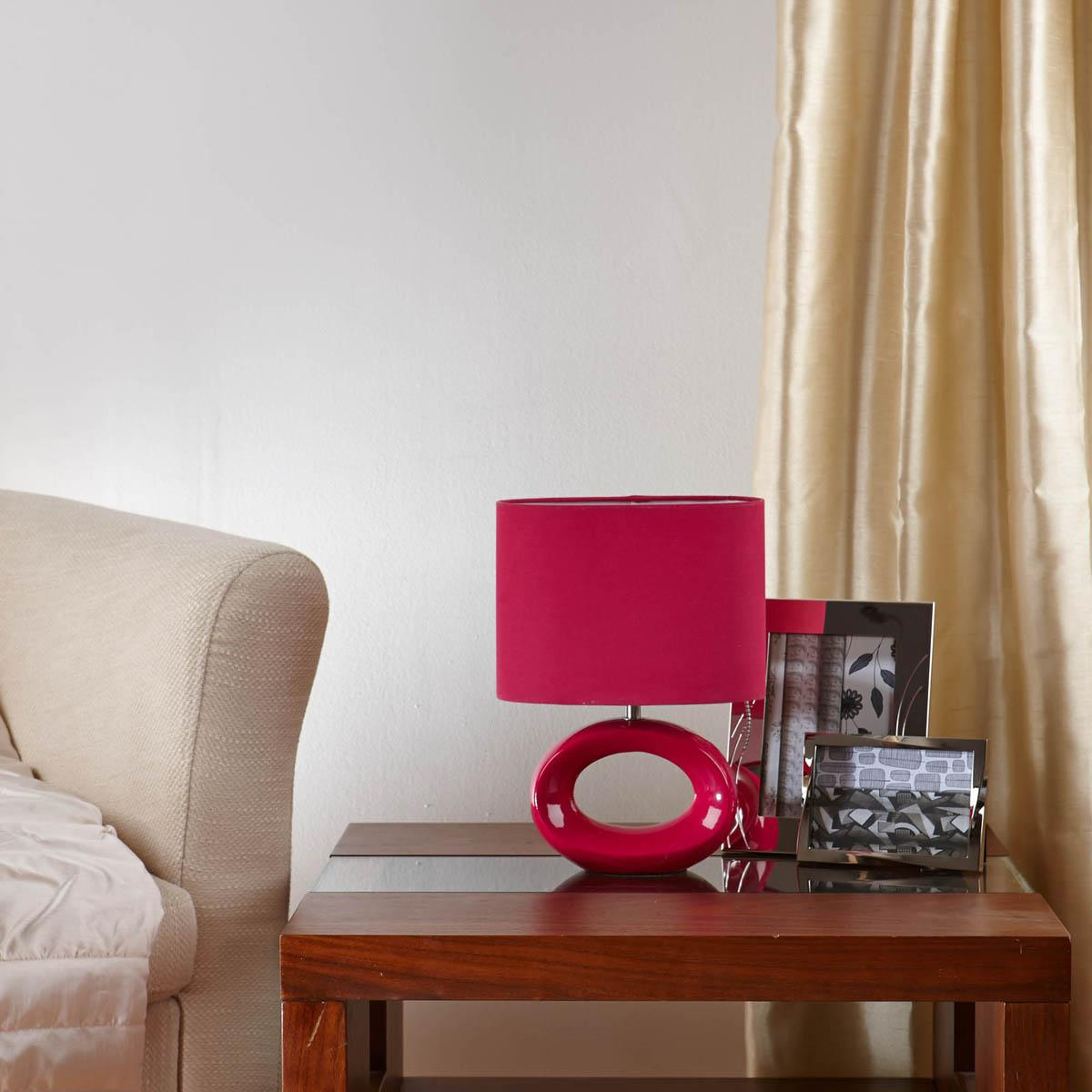 Pink Hoola Table Lamp
