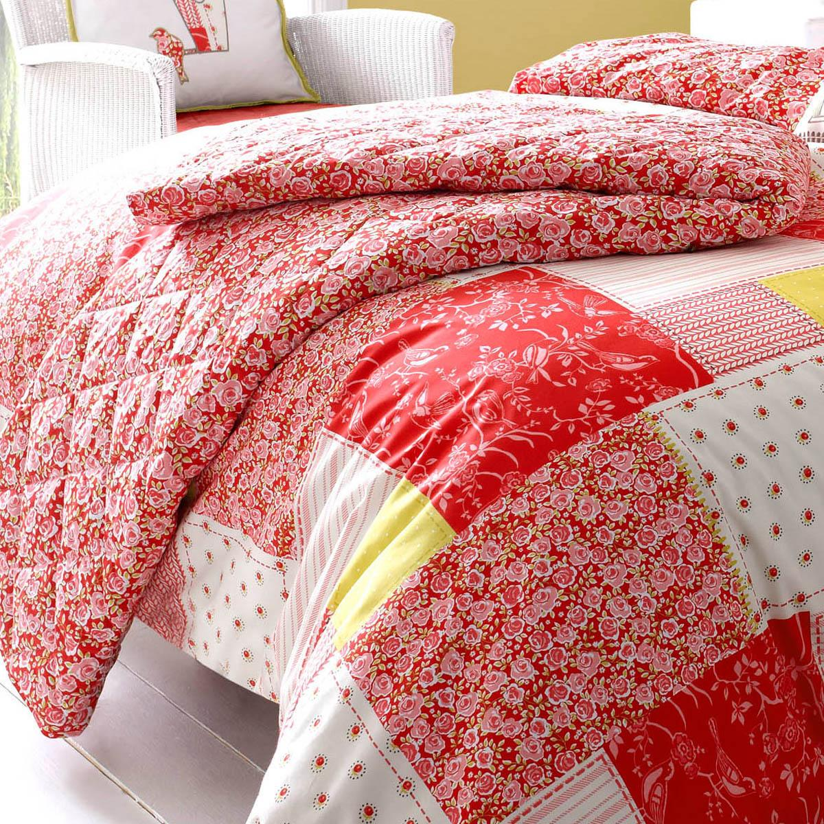 Strawberry Kirstie Allsopp Luella Quilted Bedspread