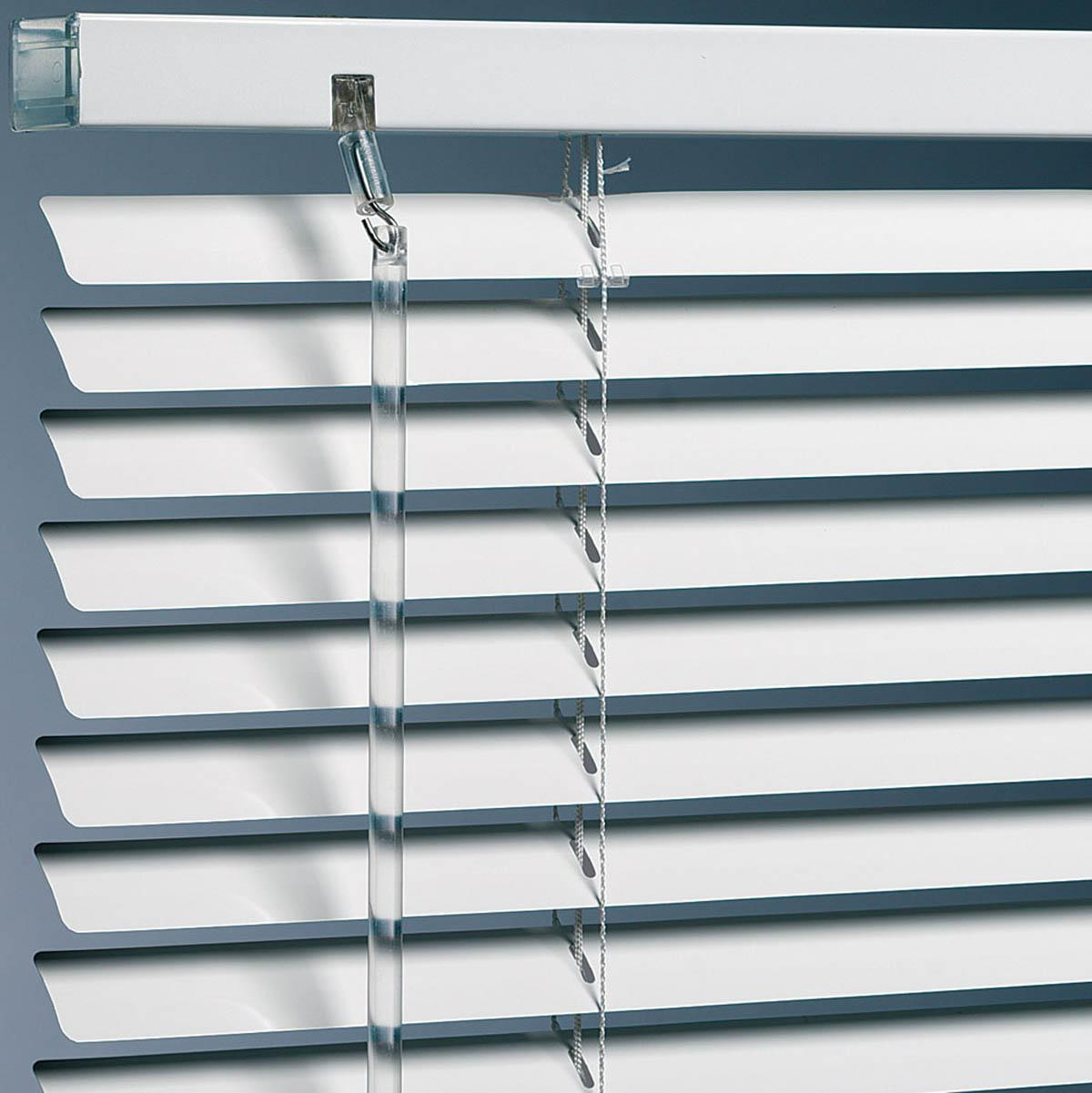 Metal Venetian Blinds in White