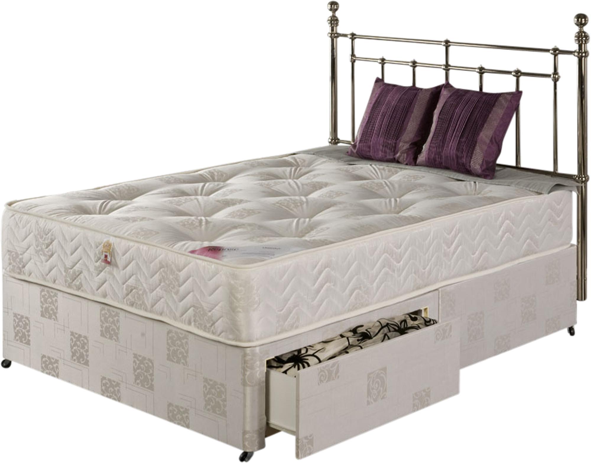 Soft cream majestyk mattress for Cream divan bed