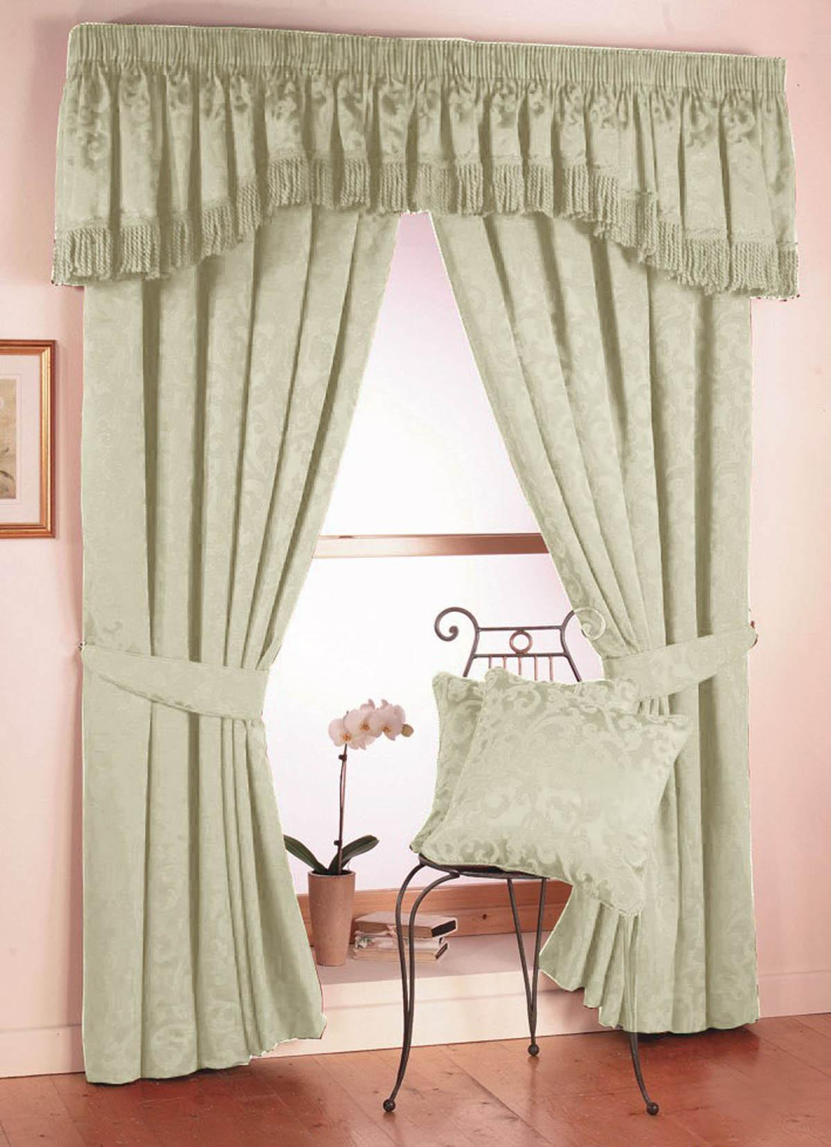 Natural Eton Ready Made Curtains
