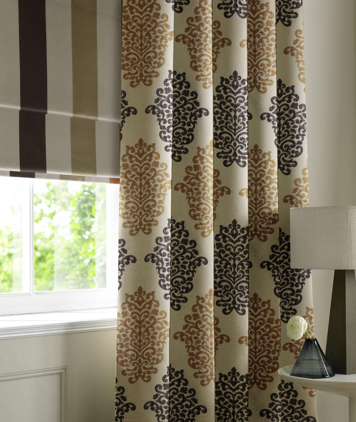 Terracotta Victoria Made To Measure Curtains