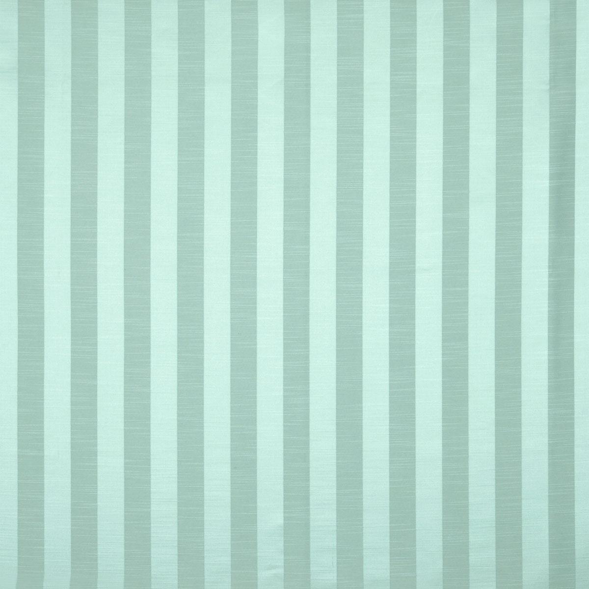 Teal Ascot Stripe Curtain Fabric
