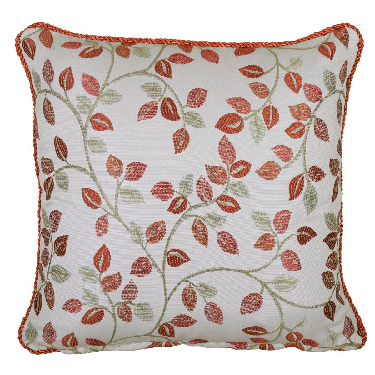 Terracotta Oakhurst Square Cushion Filled