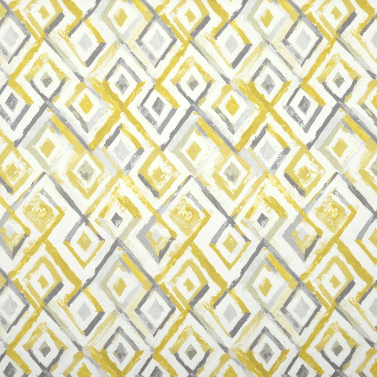 Sulphur Sirocco Curtain Fabric