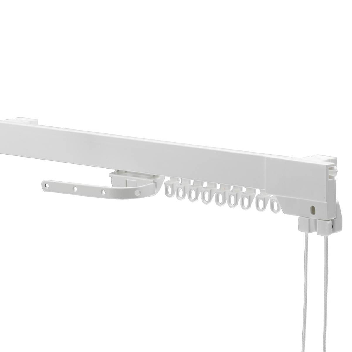 Swish Supreme Corded Curtain Track White
