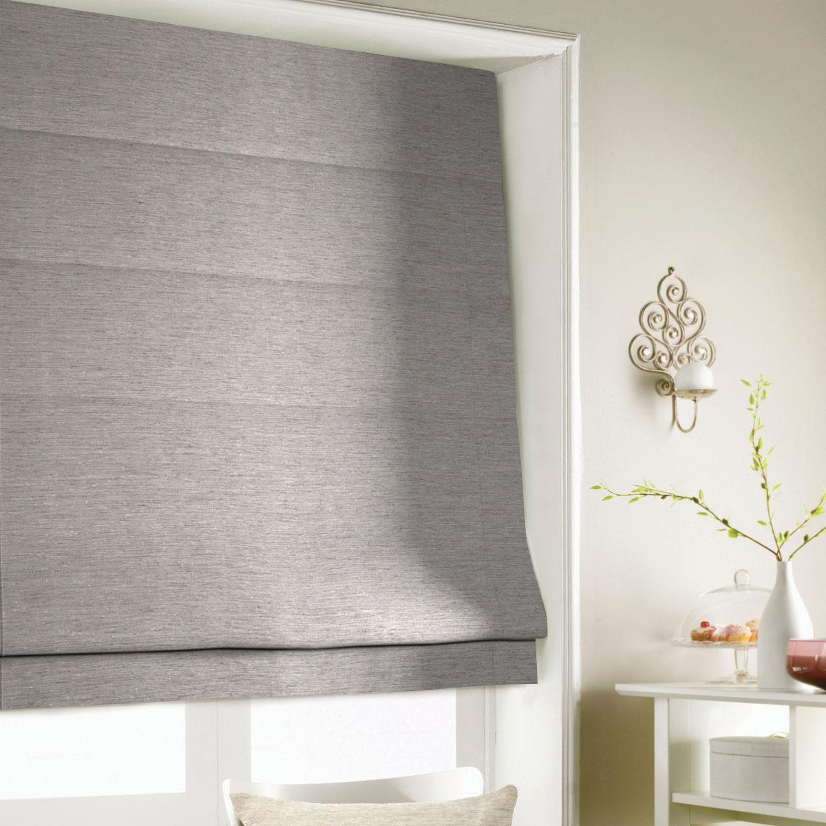 Bark Silky Roman Blind