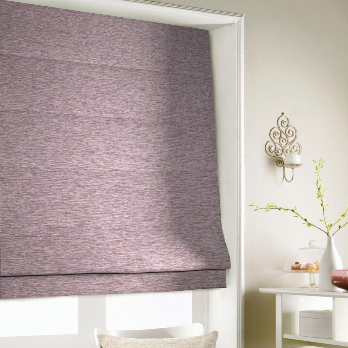 Blush Wessex Roman Blind