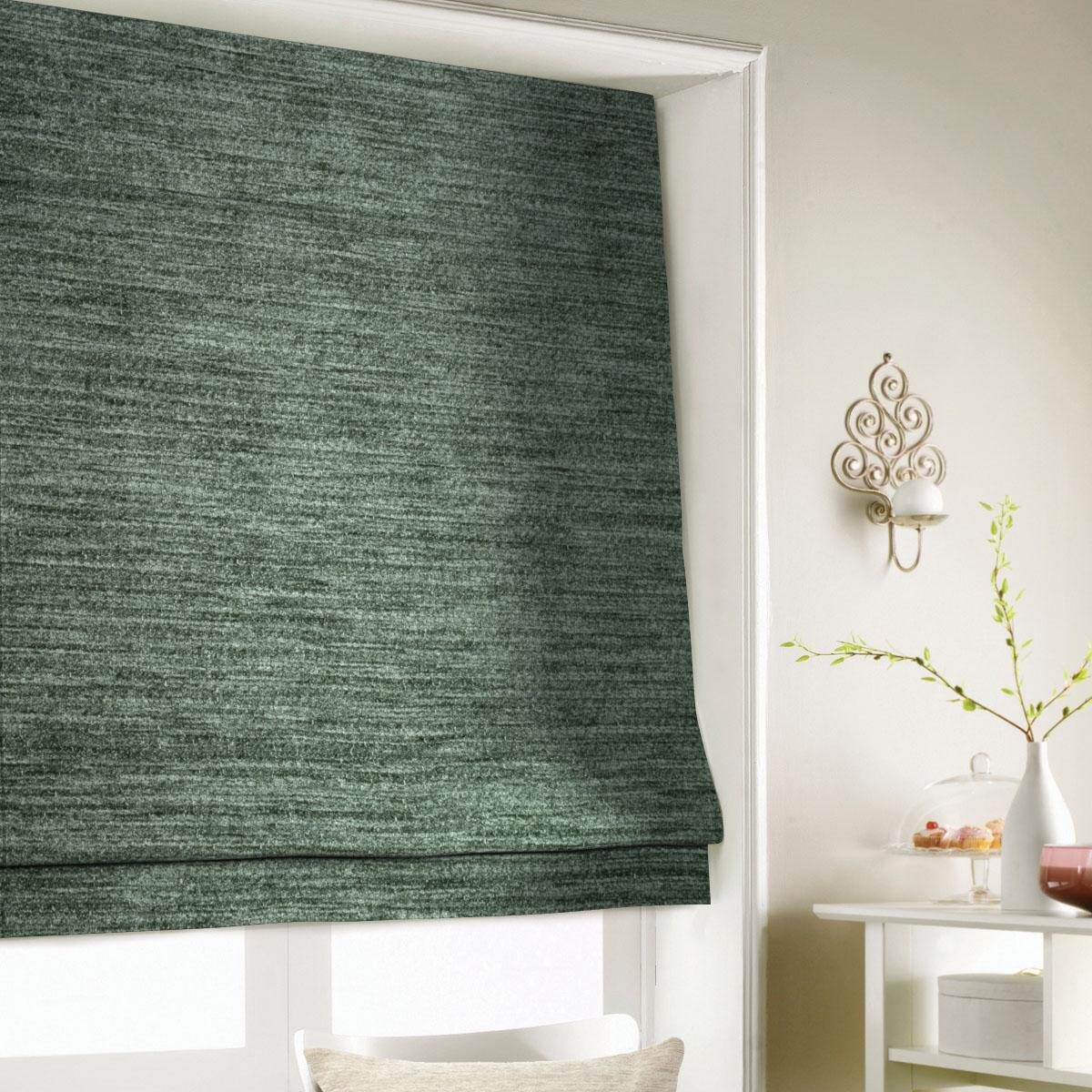 Charcoal Wessex Roman Blind