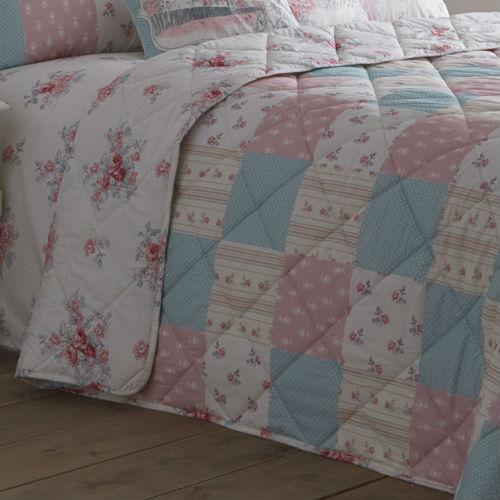 Rose Patsy Quilted Bedspread