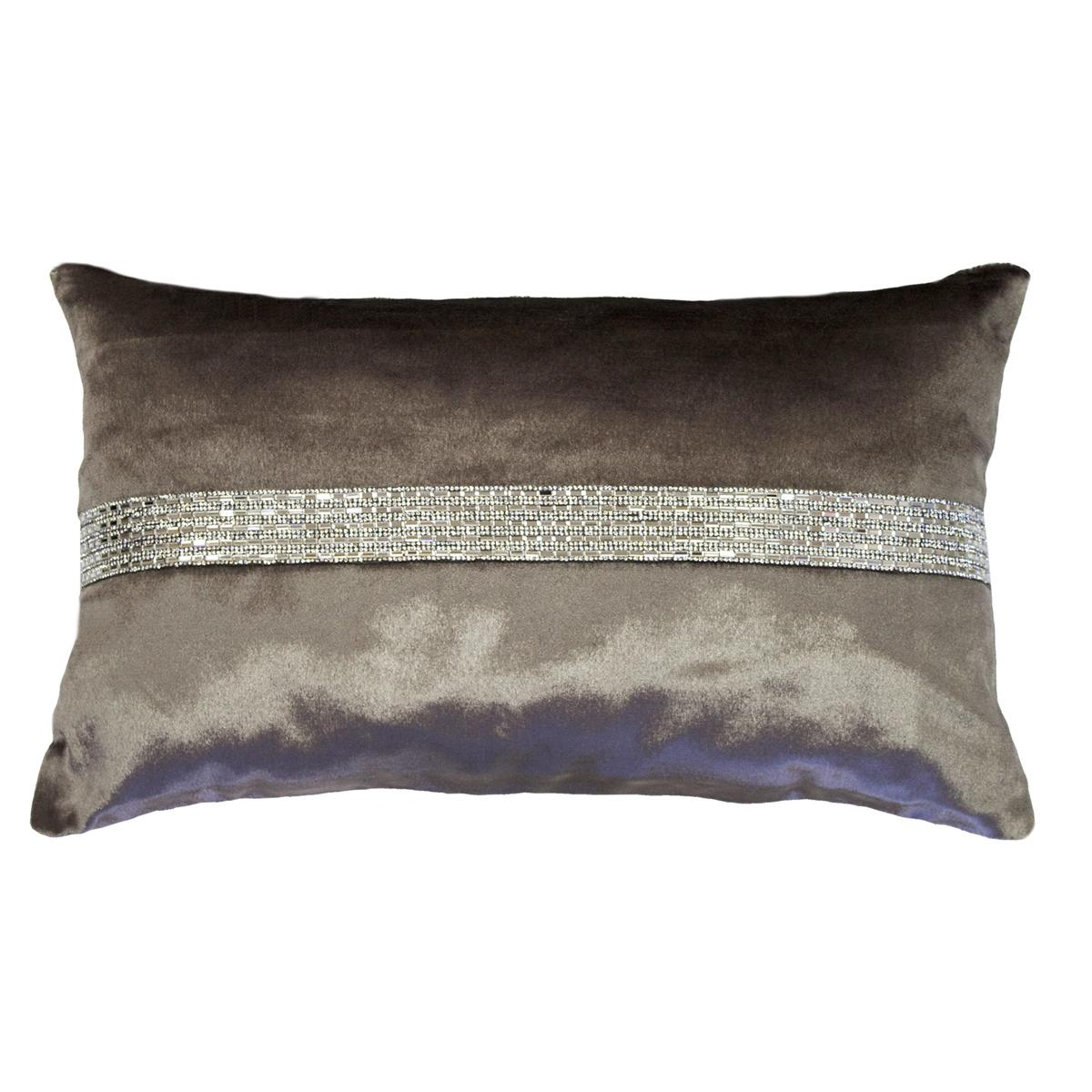 Grey Kylie Minogue Clauda Kitten Boudoir Cushion