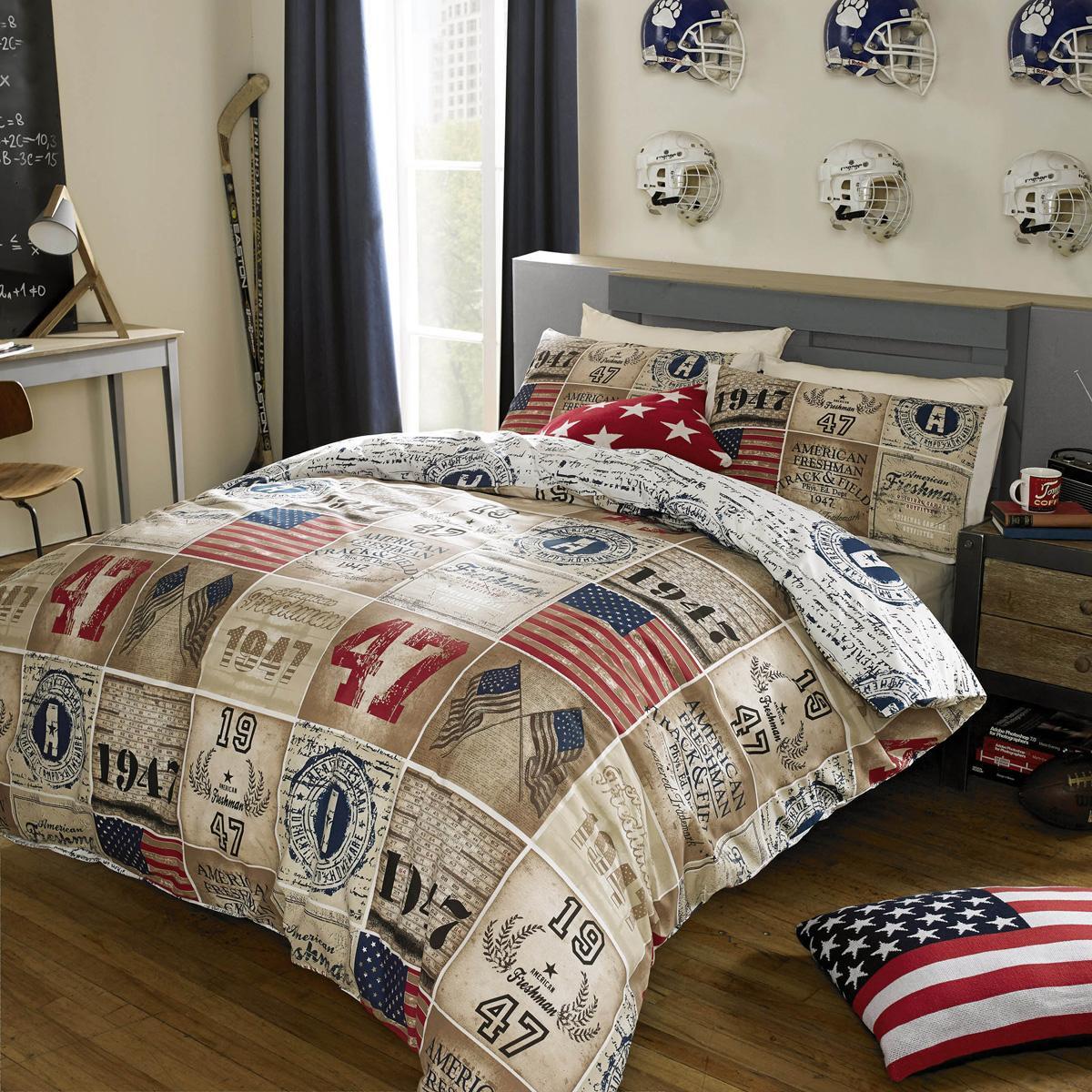 Multi American Freshman Brady Bedding