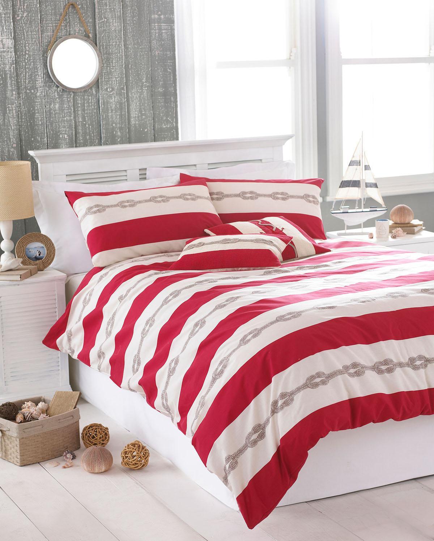 Red Reef Printed Bedding Set