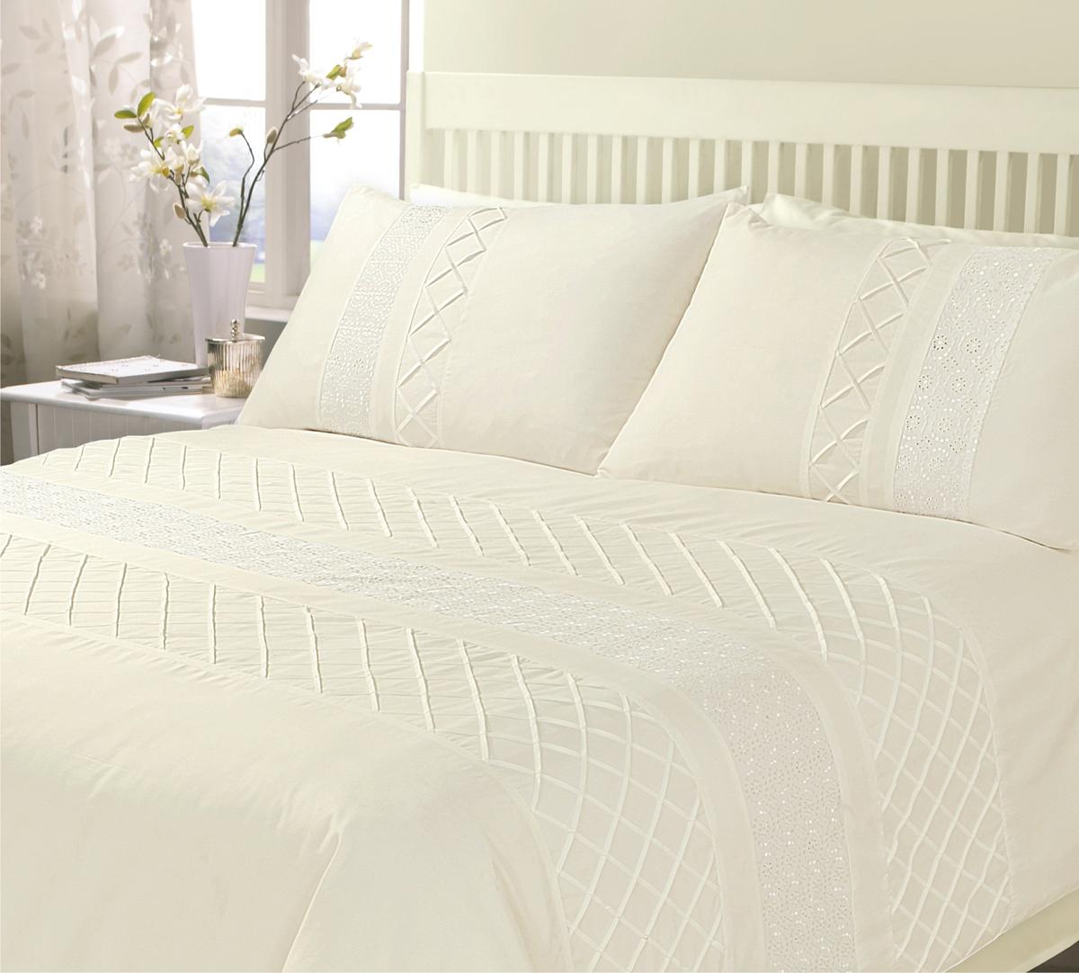 Cream Juliet Bedding Set