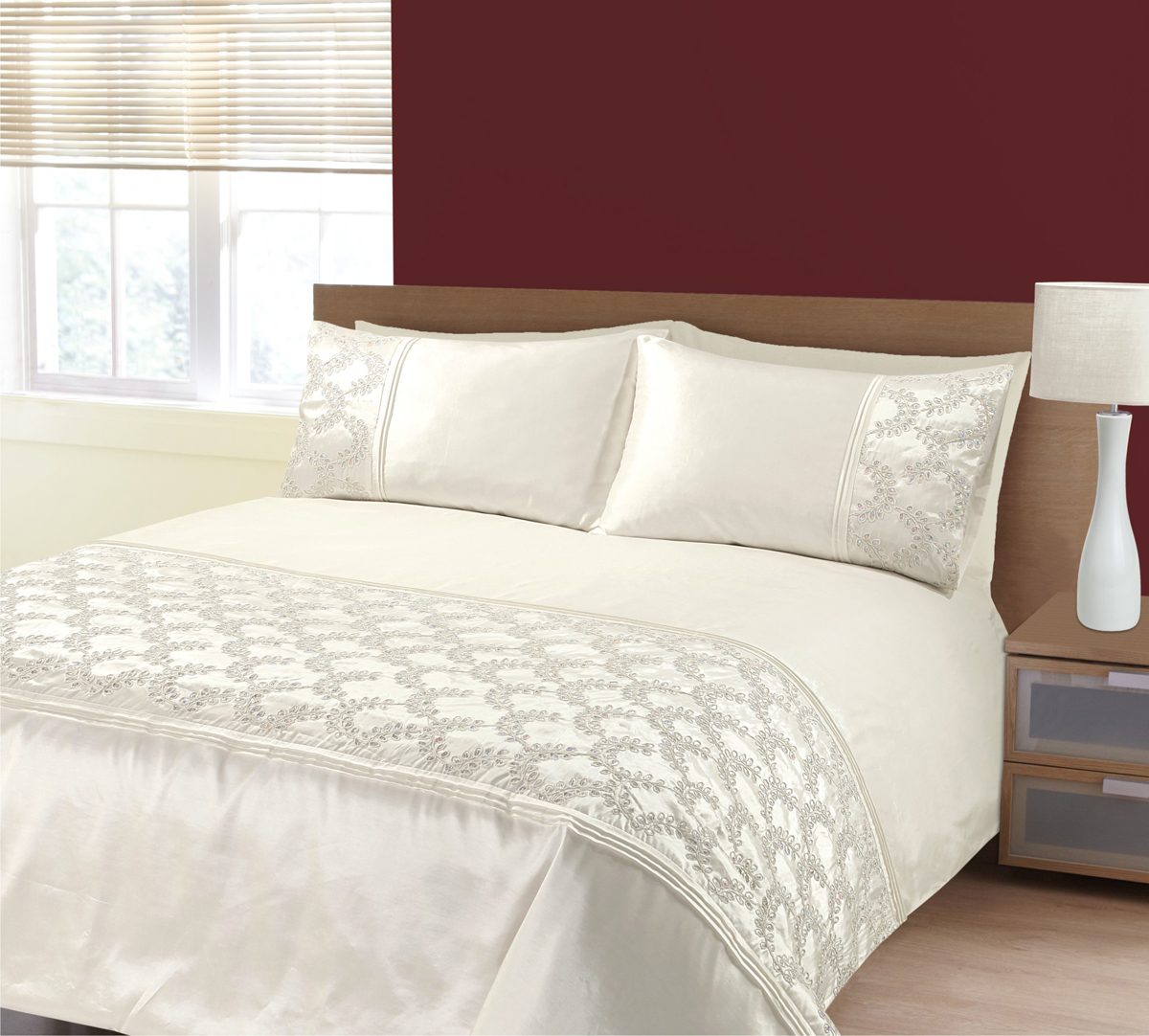 Cream Zara Bedding Set