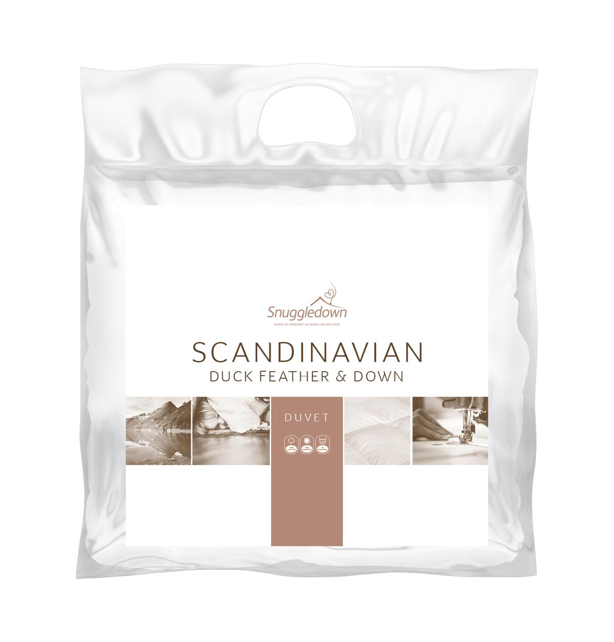 Snuggledown Scandinavian Duck Feather and Down 13.5 Tog Duvet eBay