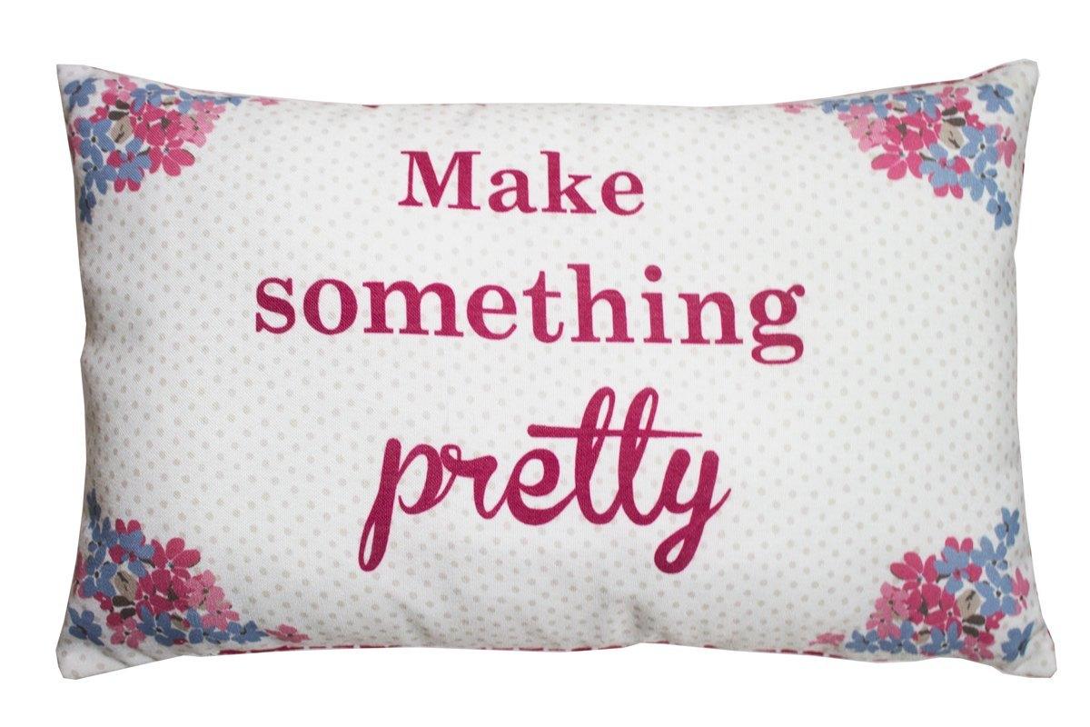 Red Kirstie Allsopp Bella Filled Cushion