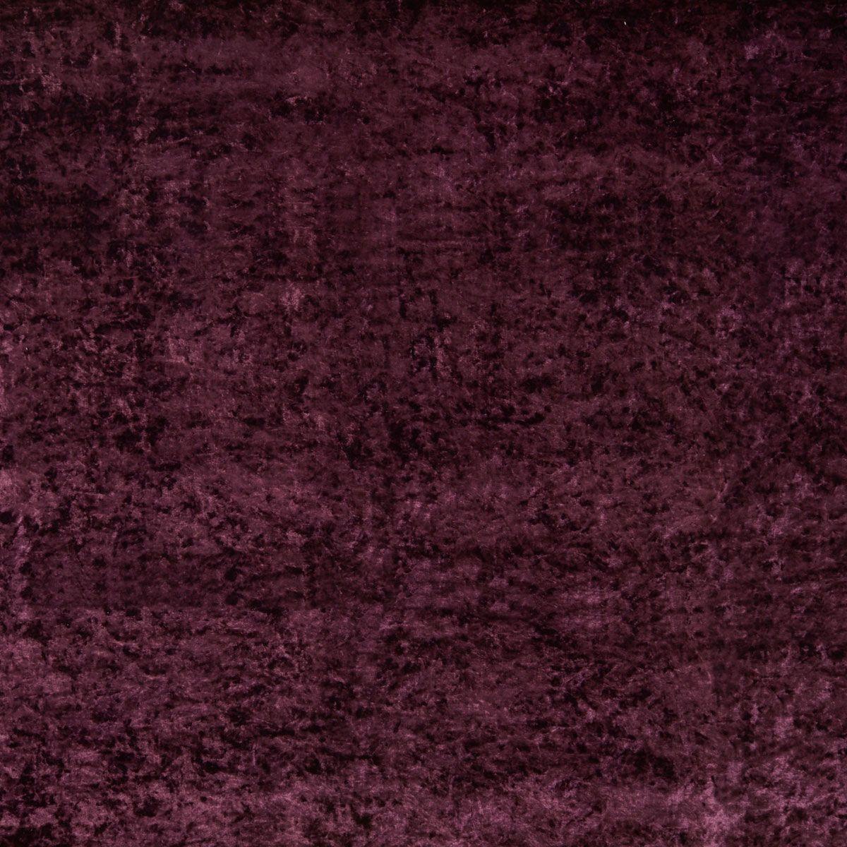 Aubergine Marble Velour Fabric