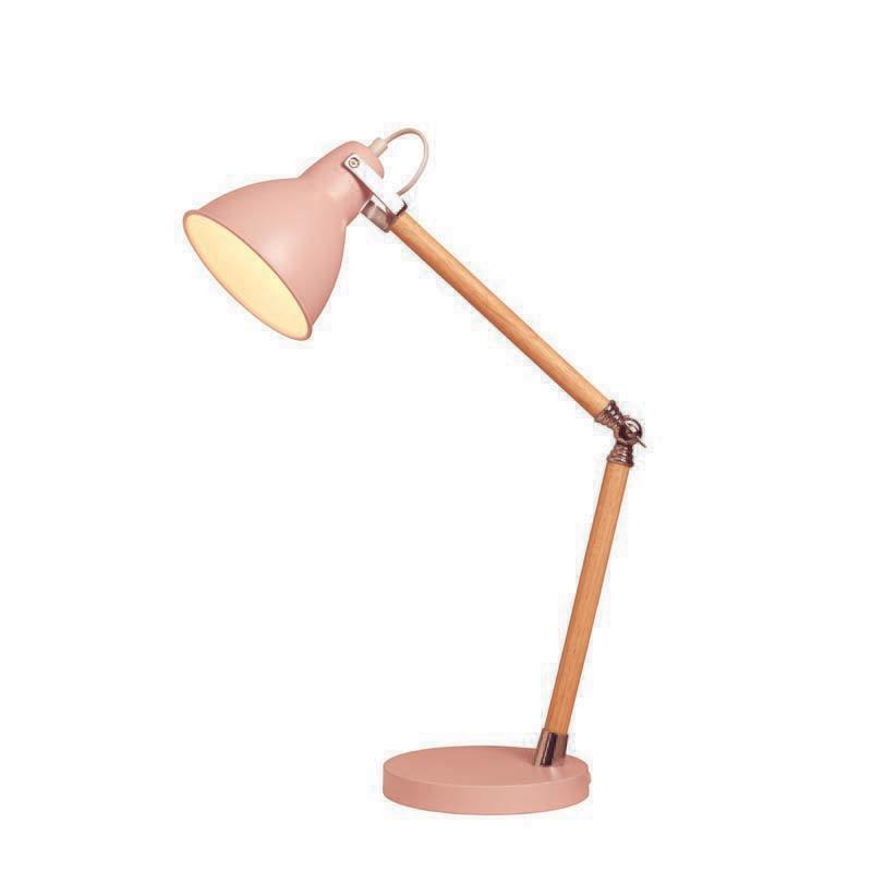 Pink Drake Desk Lamp
