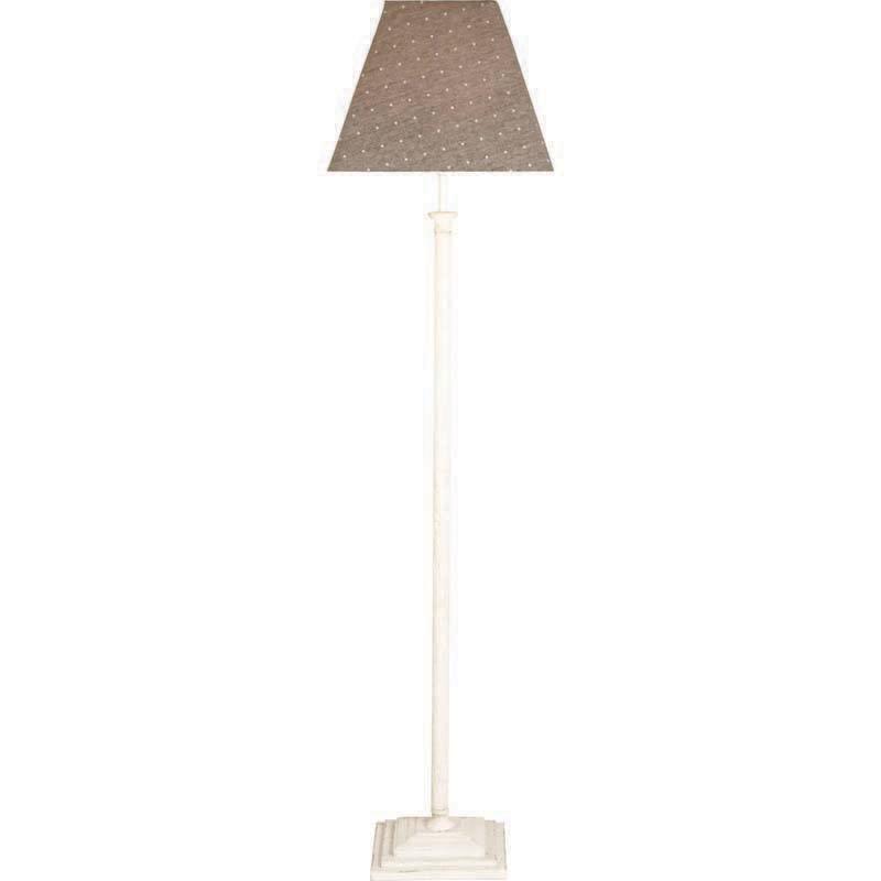 Antique WhitePolka Nelson Floor Lamp