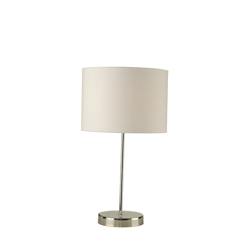 Shiny Chrome Islington Touch Table Lamp