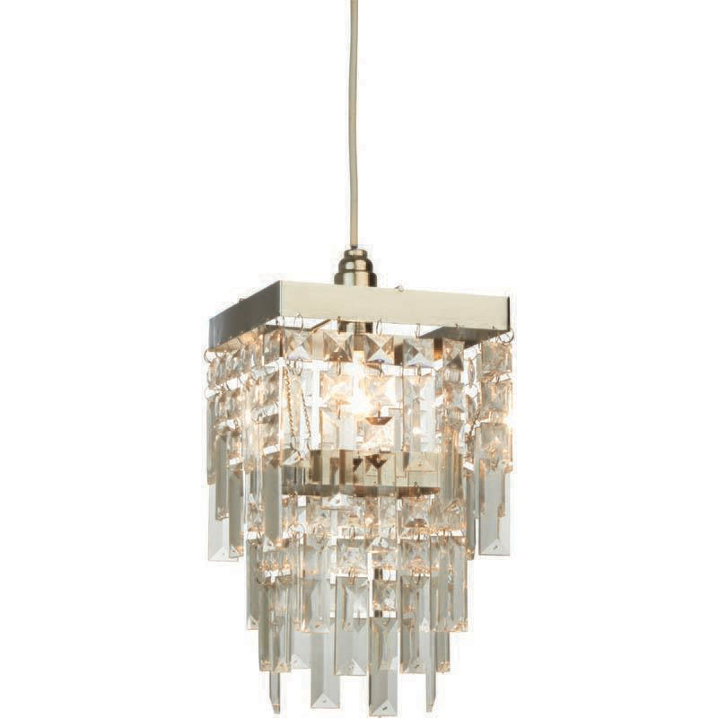 Chrome Effect Darcey Ceiling Pendant