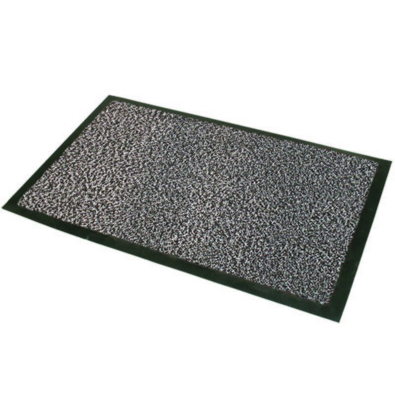 Home Textiles Grey Black Commodore Barrier Mat
