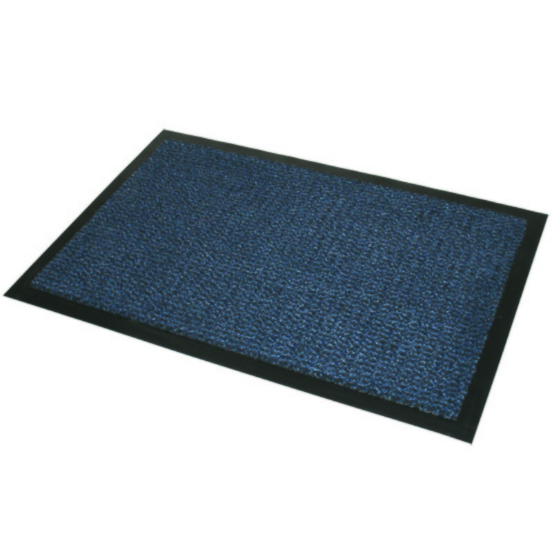 Home Textiles Blue Black Commodore Barrier Mat