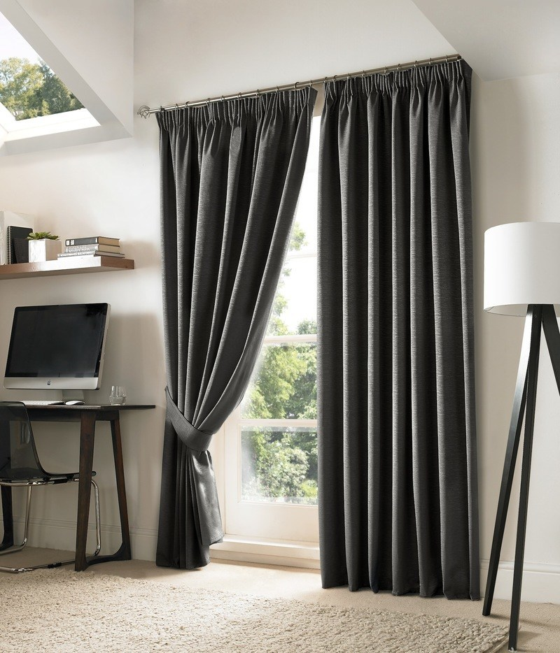 Click to view product details and reviews for Slate Nevin Ready Made Blackout Curtains.