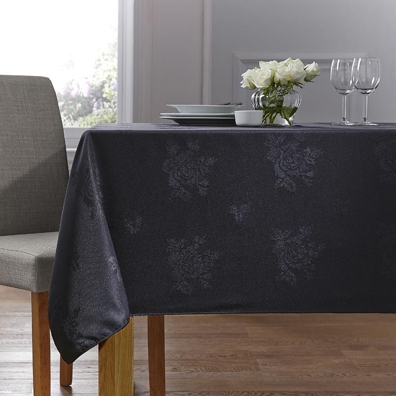 Black Cezanne Table Linen