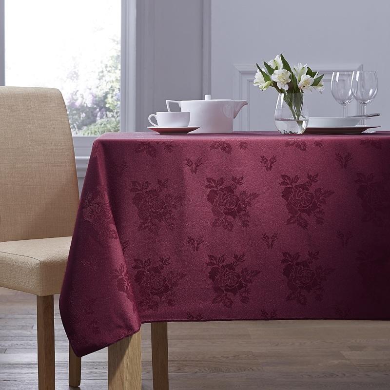 Burgundy Cezanne Table Linen