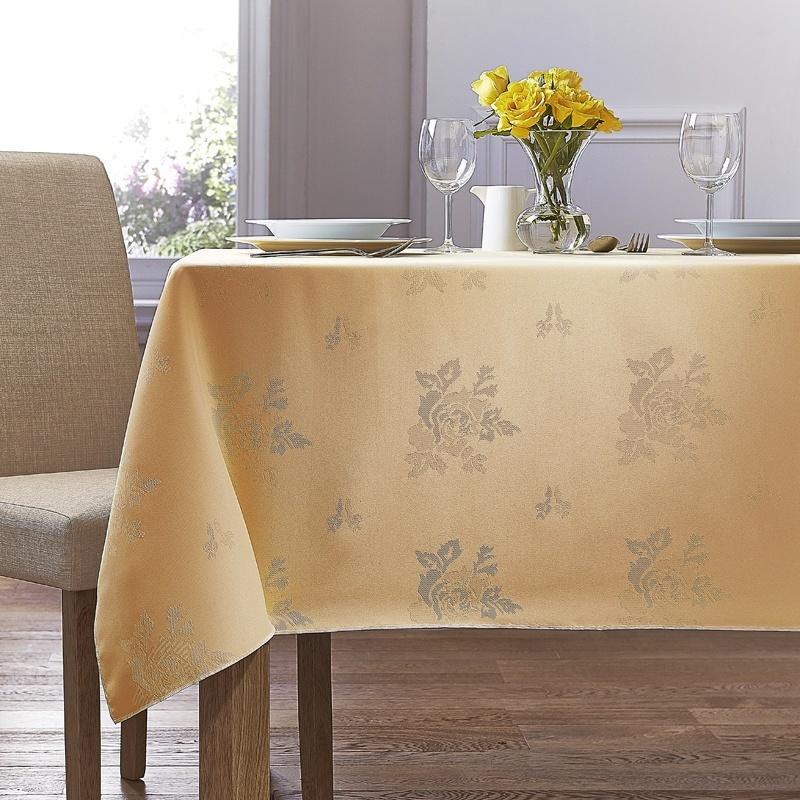 Gold Cezanne Table Linen