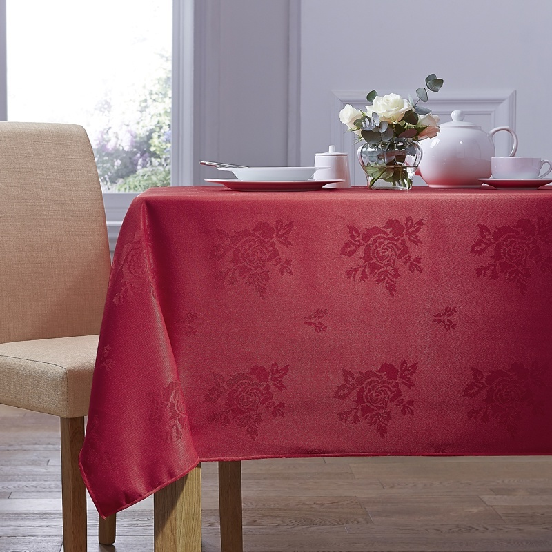 Red Cezanne Table Linen