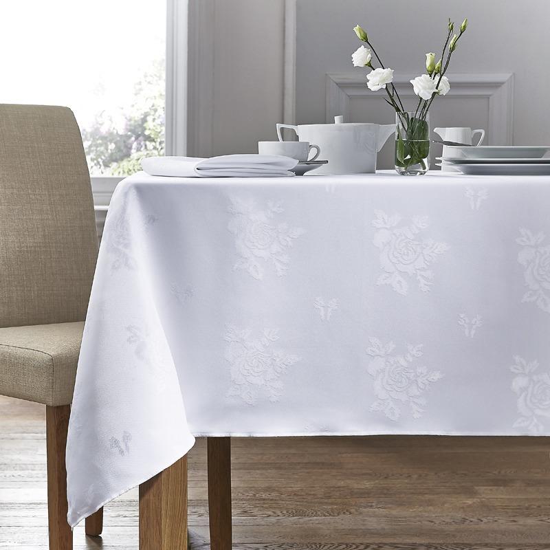 White Cezanne Table Linen