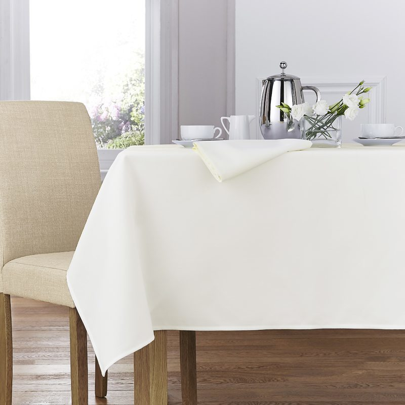 Ivory Forta Table Linen
