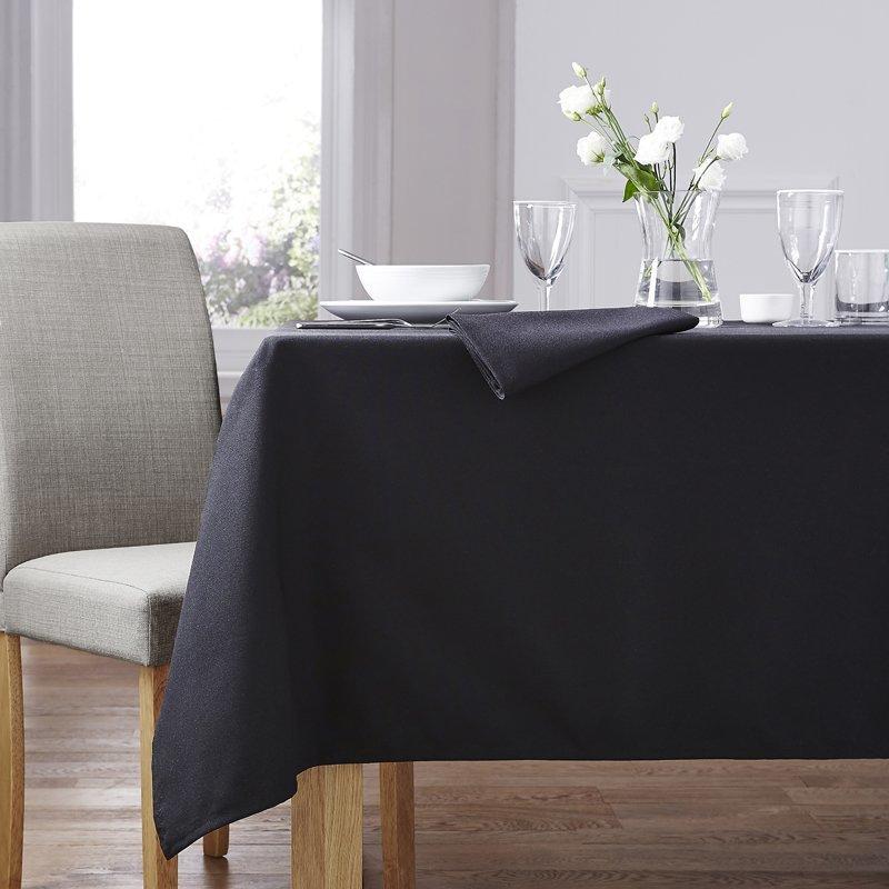 Black Forta Table Linen