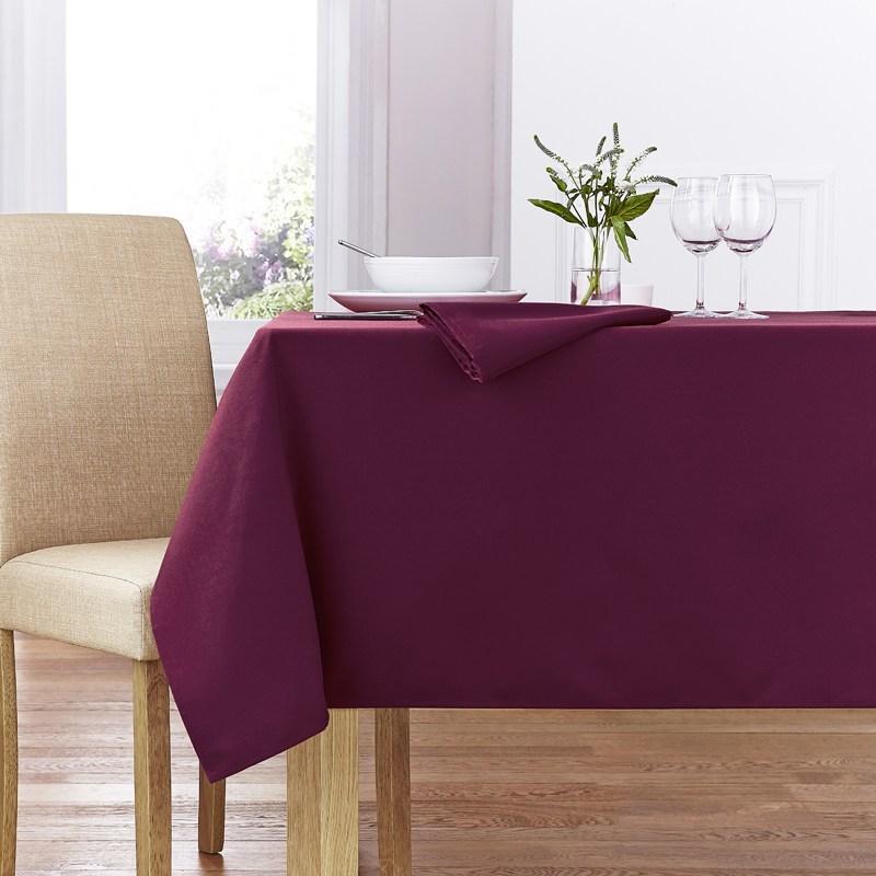 Burgundy Forta Table Linen
