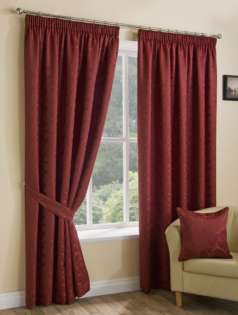 Spice Elizabeth Ready Made Lined Curtains