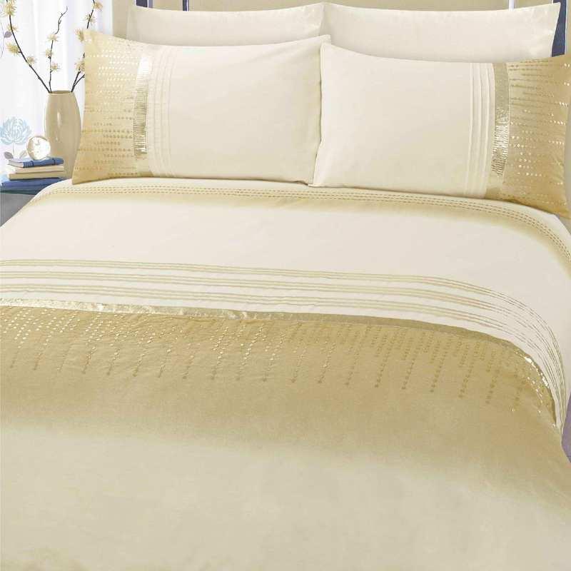 CreamGold Athena Bedding