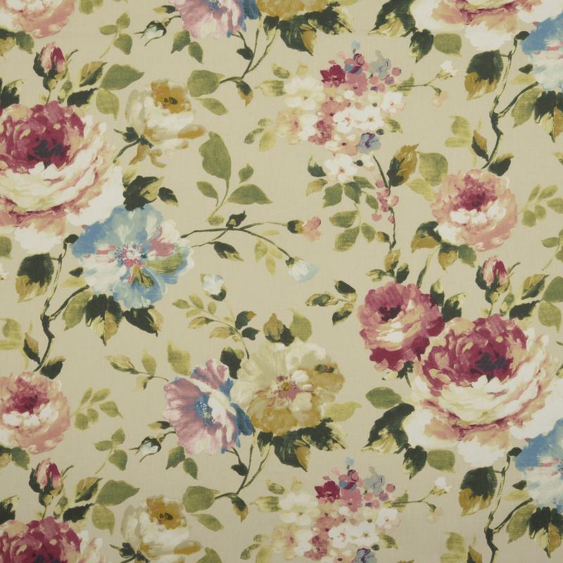 Vintage Langford Curtain Fabric